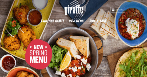 Restaurant Websites: Inspiration and Options