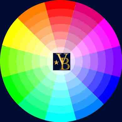 color wheel - dress up not mess up