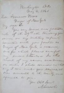 Vanderbilt's Lincoln Letter