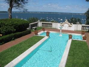 Vanderbilt Mansion Terrace and Pool