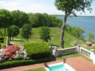Vanderbilt Terrace and Great Lawn