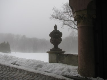 Vanderbilt Gateway in Winter