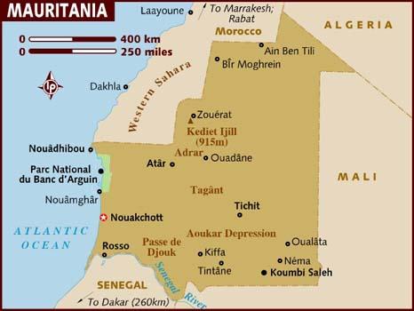 Past the Water's Edge: Mauritania