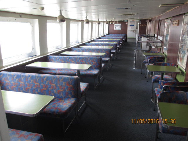 Day Passenger Vessel 1000 Day Pax Built 1972 Reduced