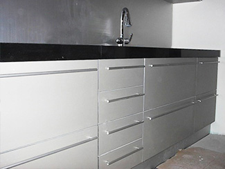 Keuken constructie
