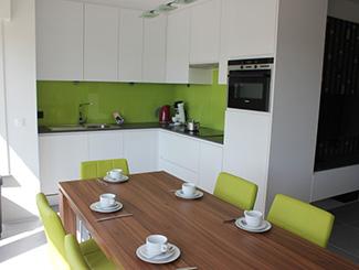 Keuken wit poerderlak
