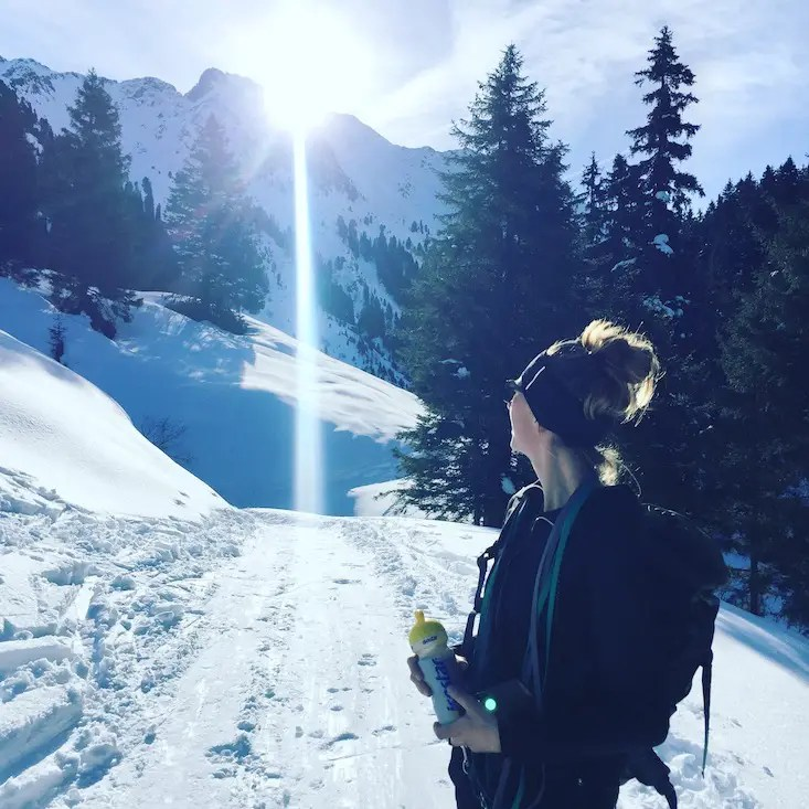 Videokamera Kitzbüheler Alpen Kelchsau Schneeschuhe Hund Langer Grund Frommalm Wintercamping Gopro Video