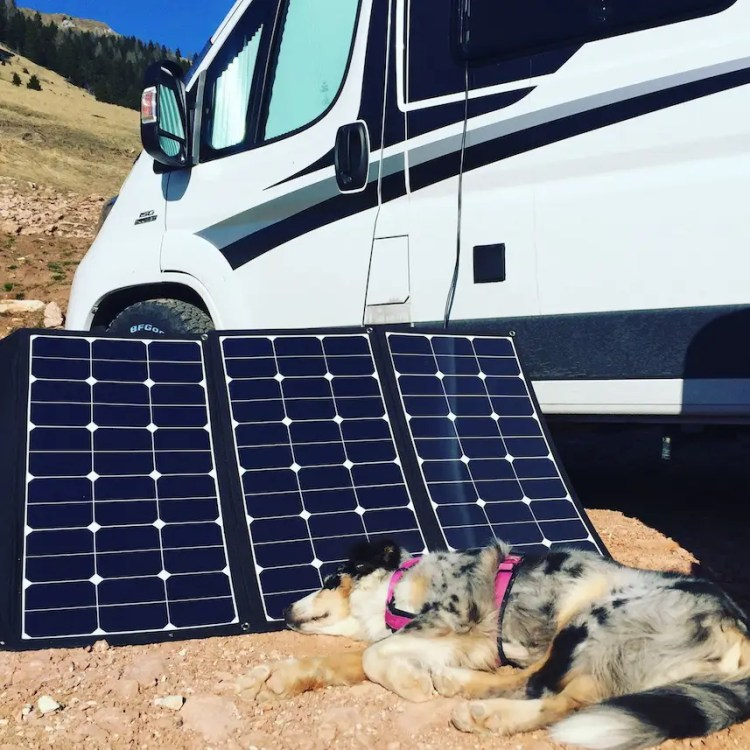 Wattstunde Solarpaneel Solartasche Campingbus Wohnmobil Ökostrom Solarstrom