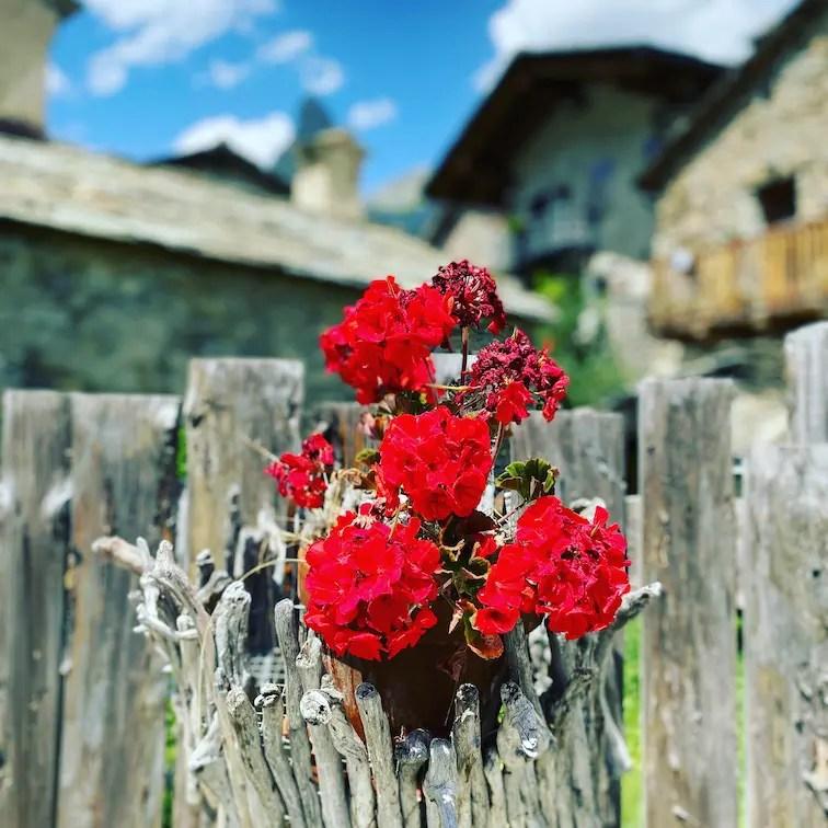 Chiappera Piemont Italien wandern
