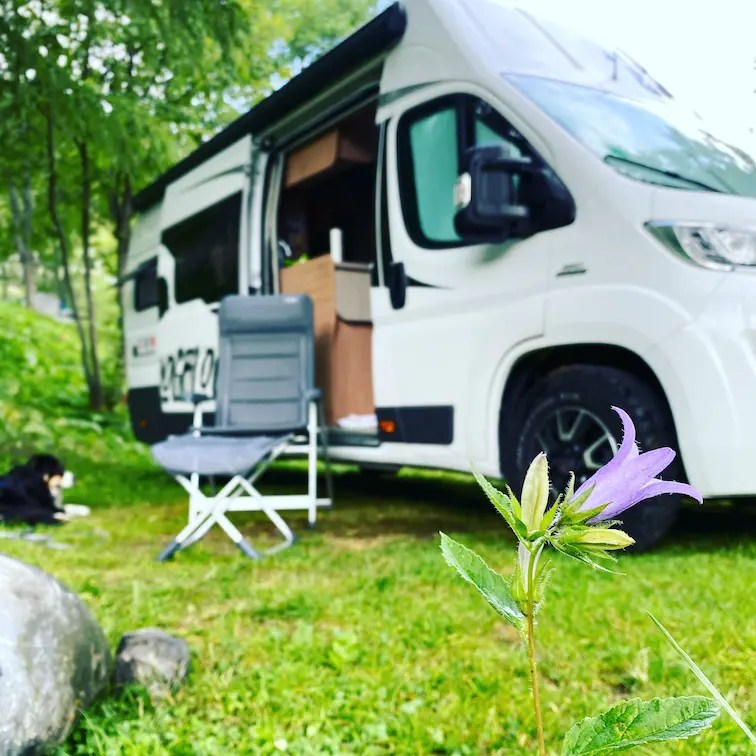 Rifugio Campo Base Campingplatz Camping mit Hund Wohnmobil Kastenwagen Boxstar Knaus