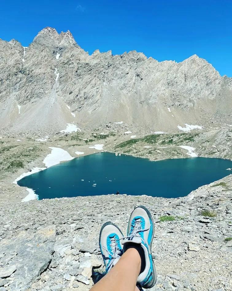 Lac de neuf couleurs Frankreich cottische Alpen Wandern Dino Icardi