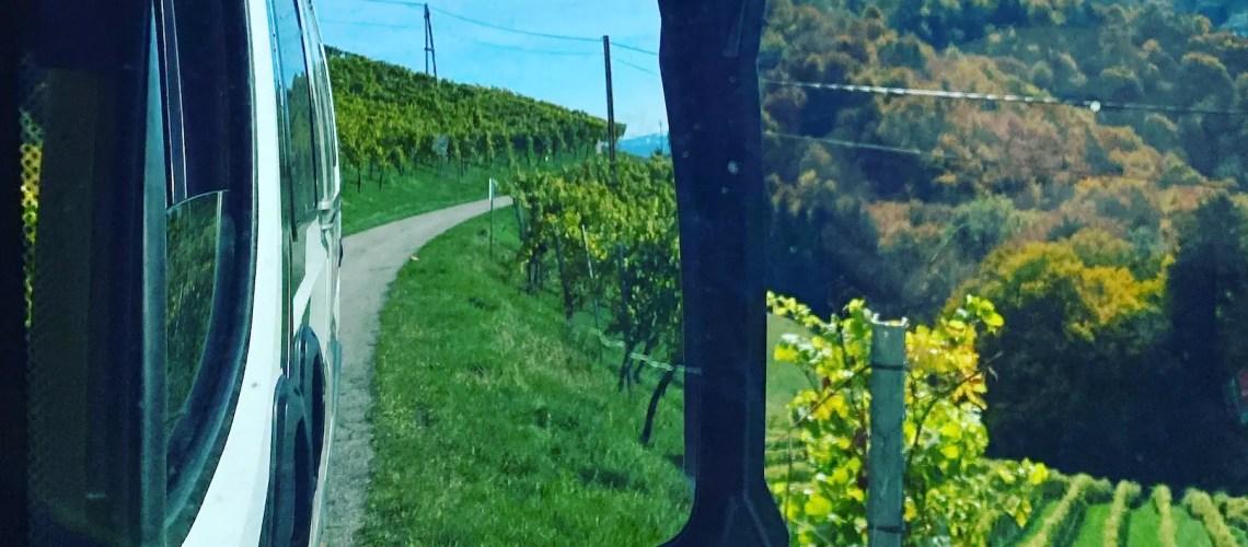 Südsteiermark Vanlife Steiermark Weinregion Wohnmobil Campingbus Rundreise roadtrip