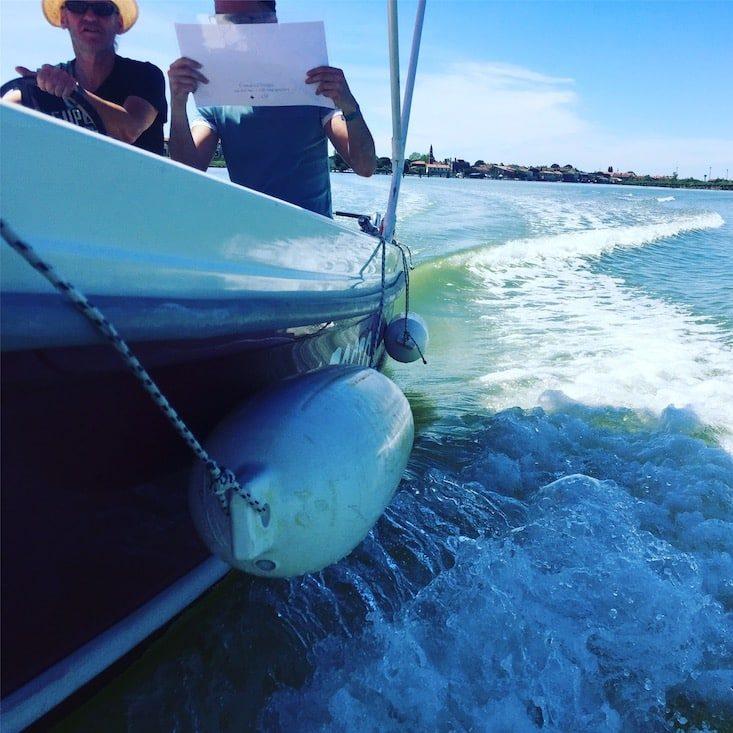 Motorboot mieten Cavallino hundefreundlich Laguni Amo