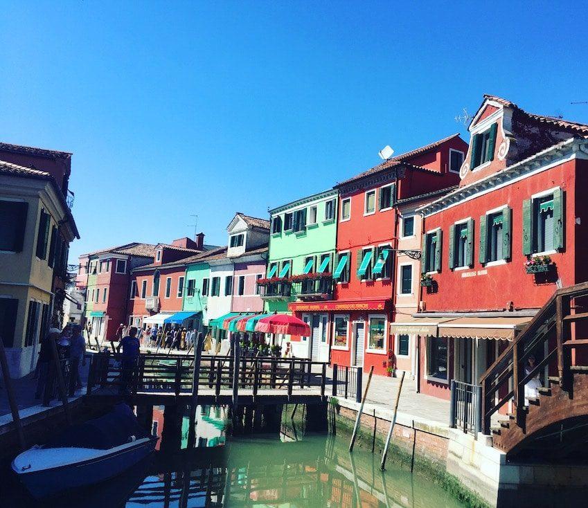 Burano Lagune von Venedig Ausflug