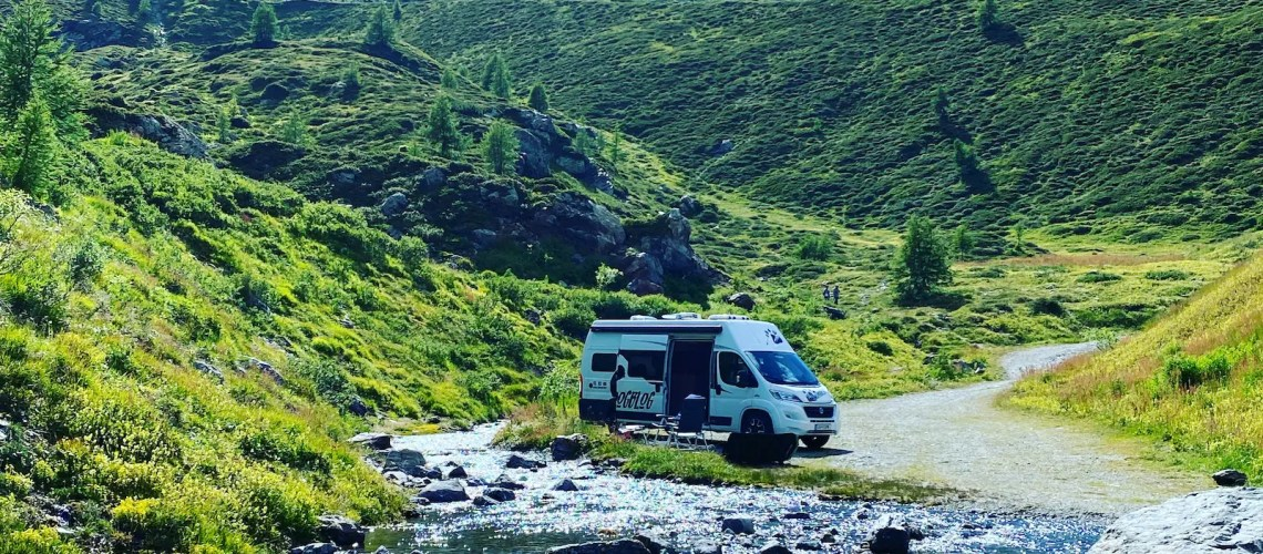 Livigno Ortler Alpen Roadtrip Kastenwagen Wohnmobil Reise Italien