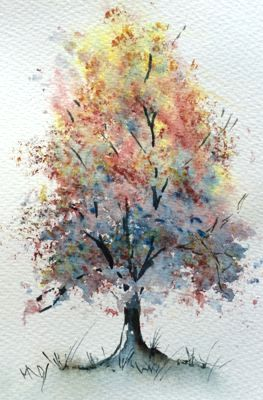 Triad Tree Painting