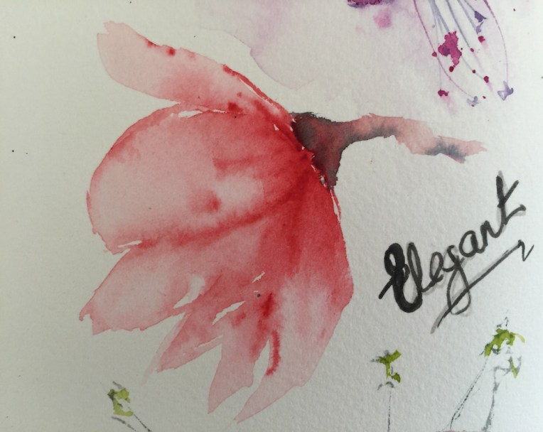 Watercolour Journal - Elegant Magnolia