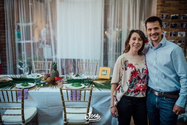 Laura y David de Bodas Bohemias