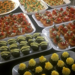 Assorted Finger Canapes