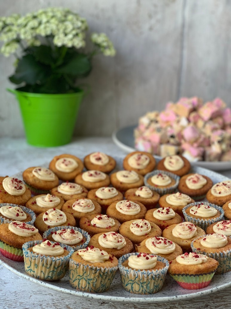 Cupcakes and Rocky Road
