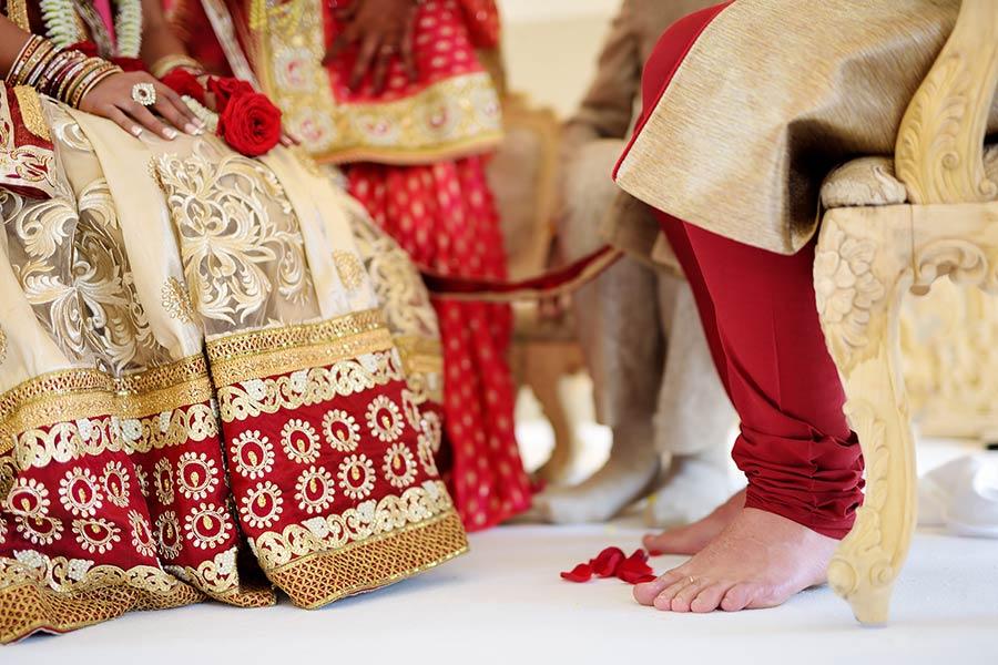 Hindu Wedding Ceremony by Vanessa Cerrone event planner