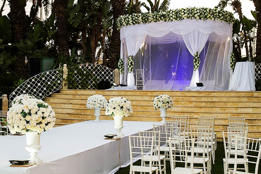 Jewish Wedding Ceremony by Vanessa Cerrone event planner
