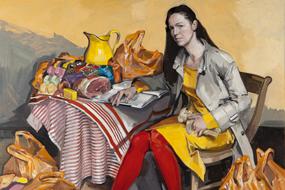 Vanessa Garwood Vanessa Garwood painting And is it true? It is not true. Griselda Perrault