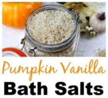 Pumpkin Vanilla Bath Salts