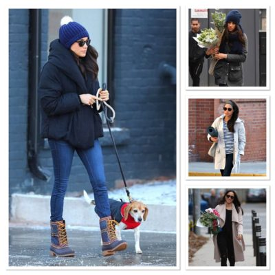 Meghan Markle casual style group