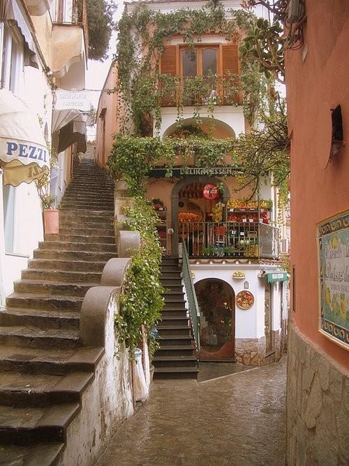 Restaurant, Positano, Italy