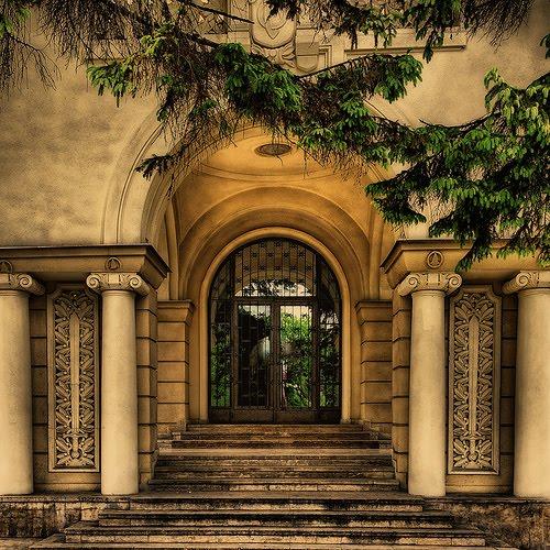 Columned Entryway, Brasov, Romania