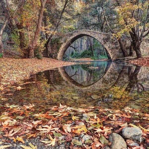 Ancient Kefalos Bridge, Island of Cyprus