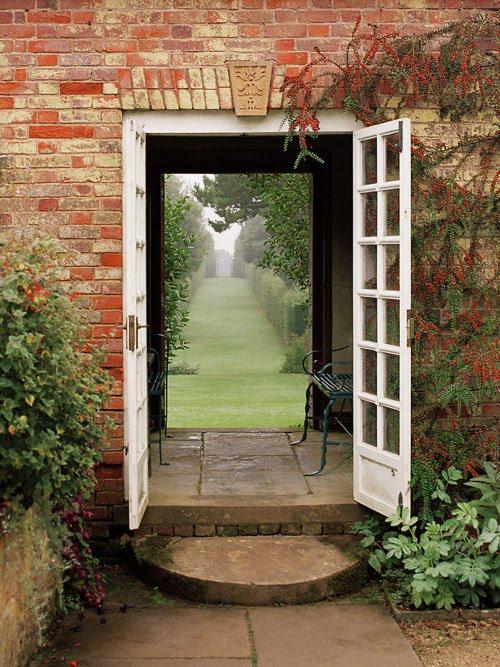 Door to the Garden, Cotswold, England