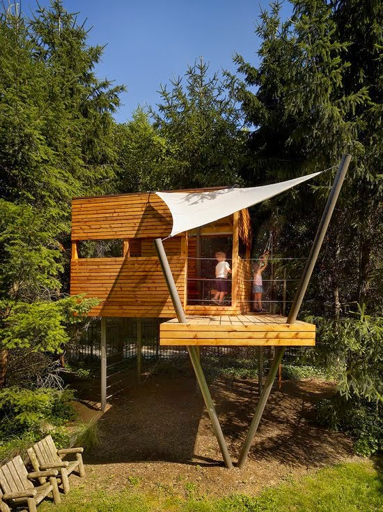 For Fun A Tree House (San Francisco)