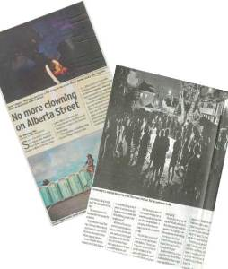 Oregonian press clippings
