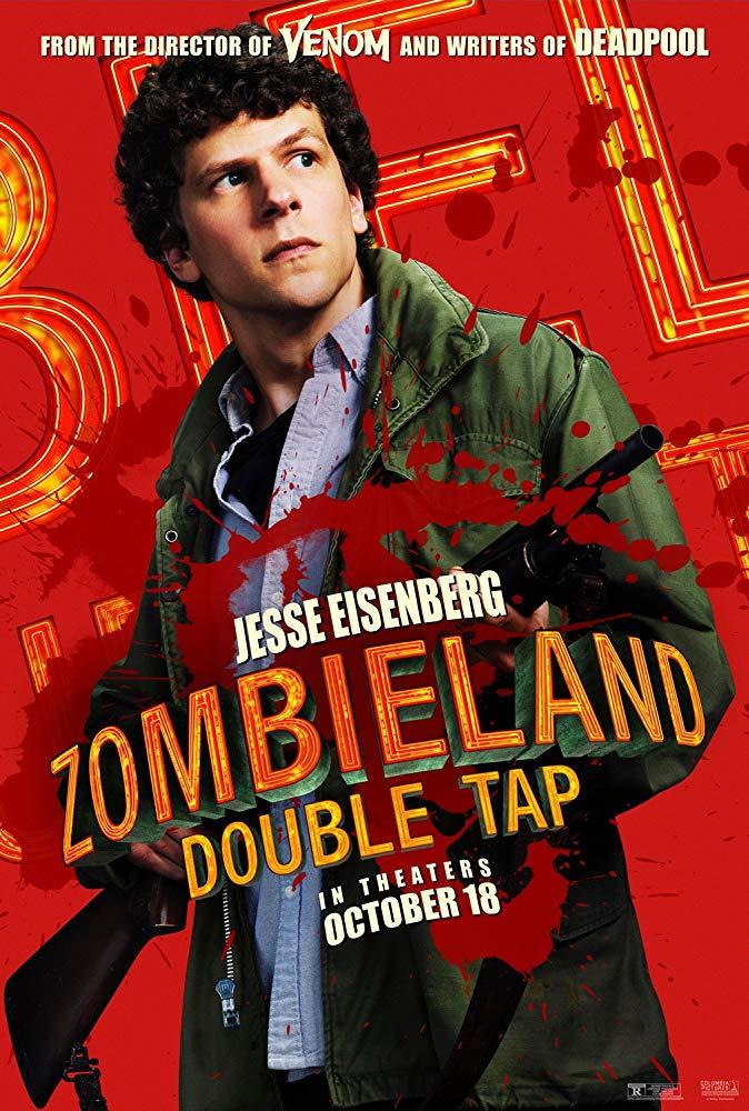 Zombieland sequel Jesse Eisenberg