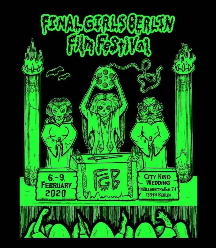 Women filmmakers - Final Girls Berlin Film Festival Poster
