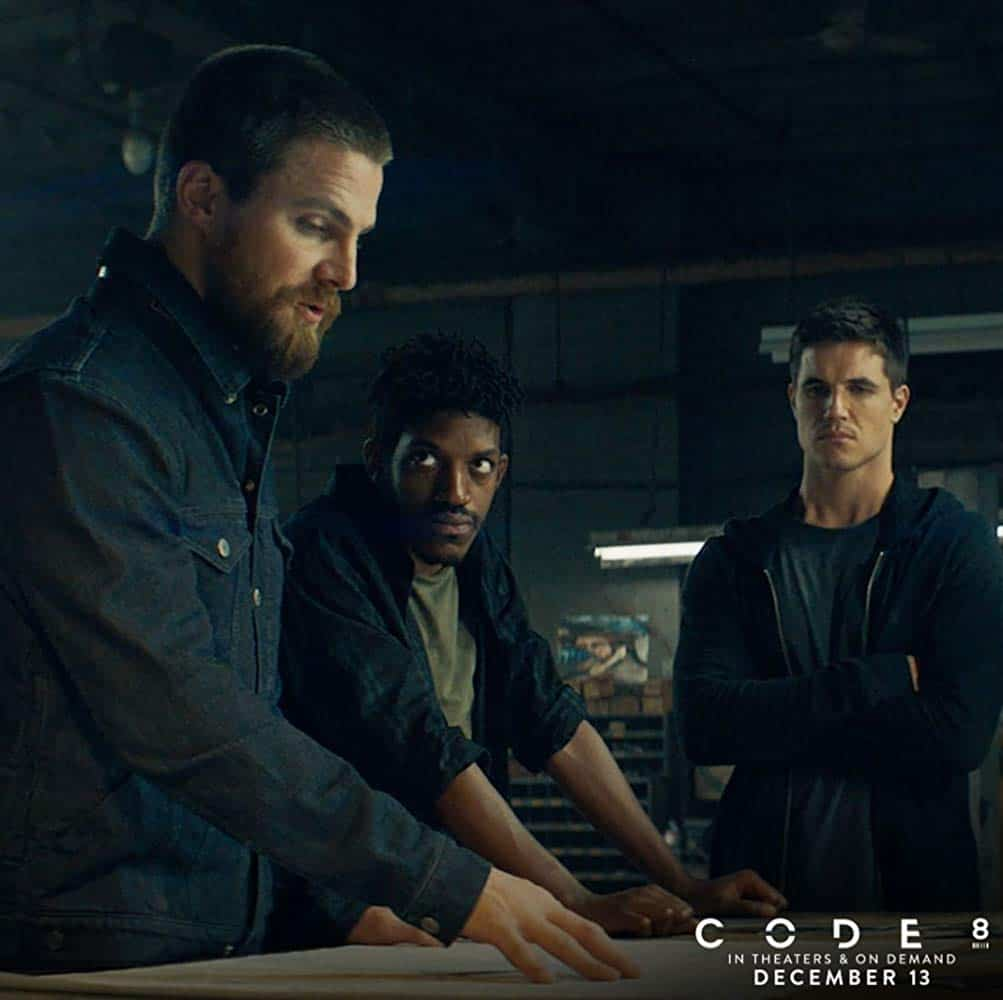 Stephen Amell and Robbie Amell movie still