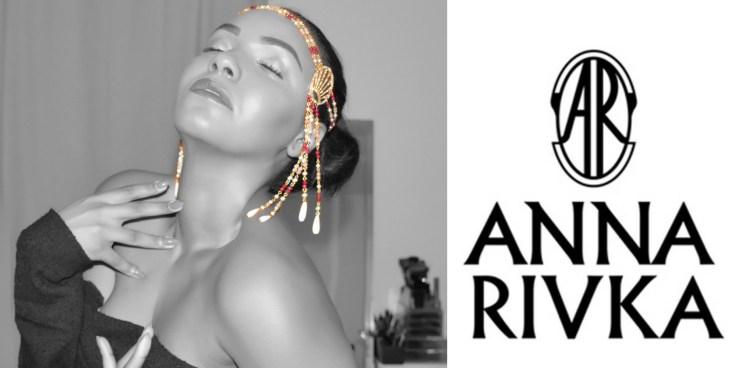 Diadème signé Anna Rivka