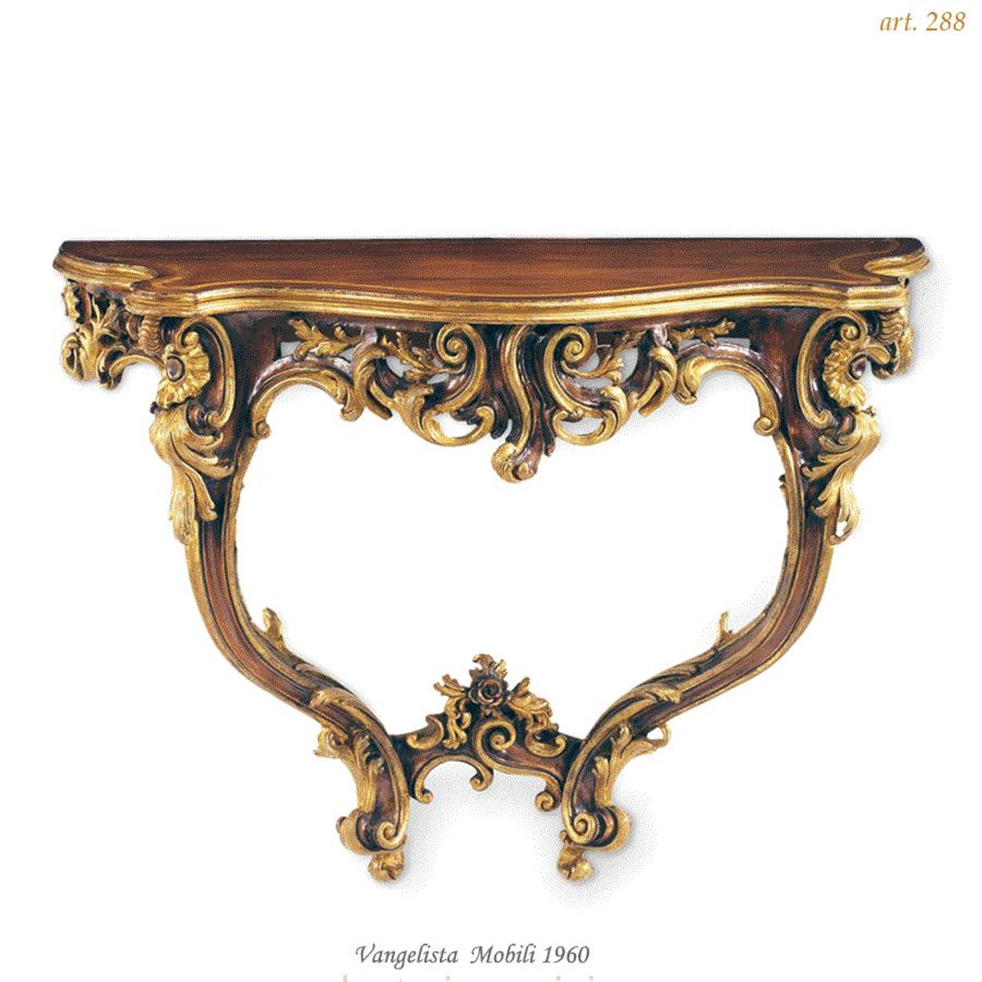 french style entrance wall console