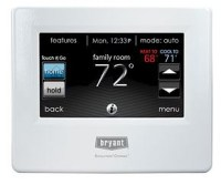 Bryant Evolution Connex thermostat
