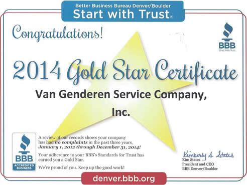 Gold Star Better Business Bureau