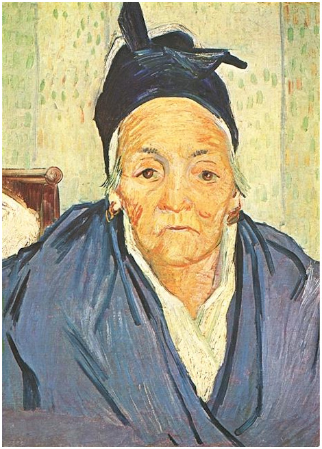 Vincent van Gogh's Old Woman of Arles, An Painting