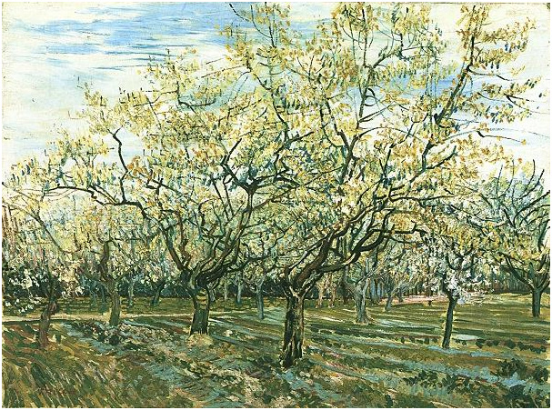 Image result for the white orchard van gogh