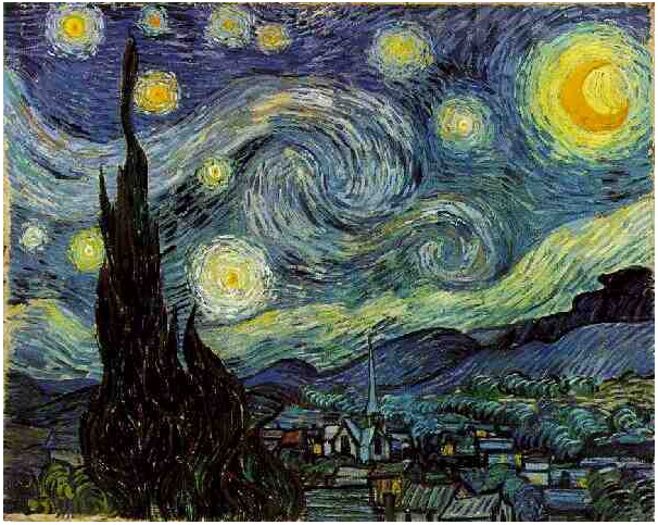 Vincent van Gogh's Starry Night Painting
