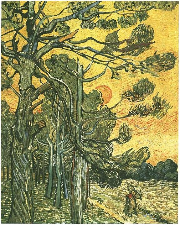 Painting Sky Van Gogh Starry