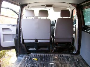 VW Campervan Conversion taking out the floor and side panels