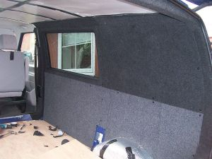 VW T4 Carpet lining