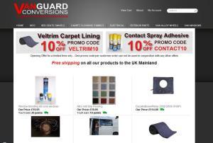 Vanguard Conversions Online Shop
