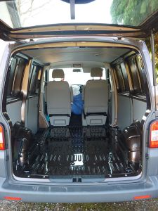 Brand new VW T5 ready for Carpet Lining and Altro Flooring